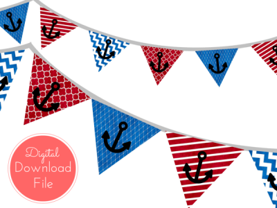 Printable Instant Download Banners & Buntings - Magical ...