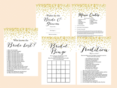 Gold-Confetti-Bridal-Shower-Game-Set-Modern-Bridal-Shower-Game-Printable-Bachelorette-Games-BS46