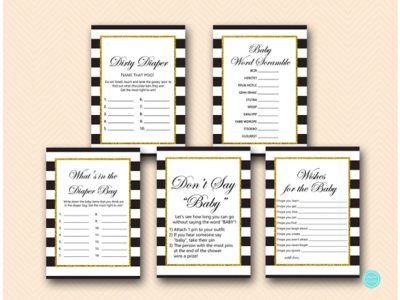 black-stripes-gold-baby-shower-game-package-printable-download-tlc442-1