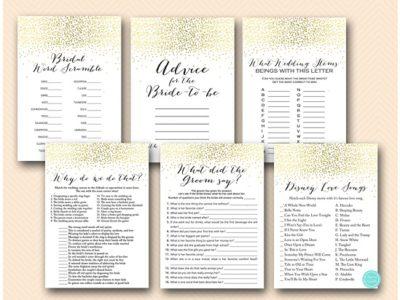 gold-bridal-shower-games-package-instant-download-bs4725