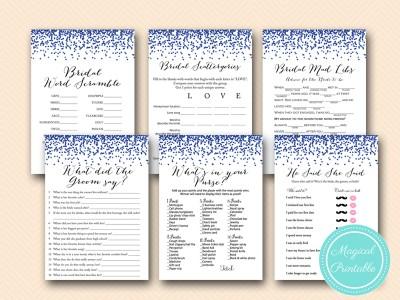 navy bridal shower games printable download bs408