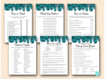 peacock-bridal-shower-games-peacock-feathers-hen-night-game-e1506703918703