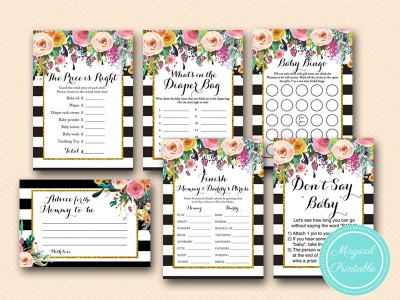 shabby-chic-floral-gold-baby-shower-games-printable-activities-bs402
