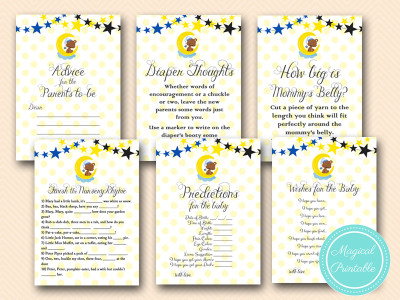 twinkle twinkle little star how i wonder what you are baby shower games tlc23
