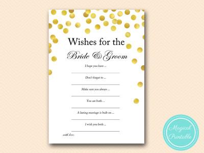 wishes-for-bride-groom bridal shower cards