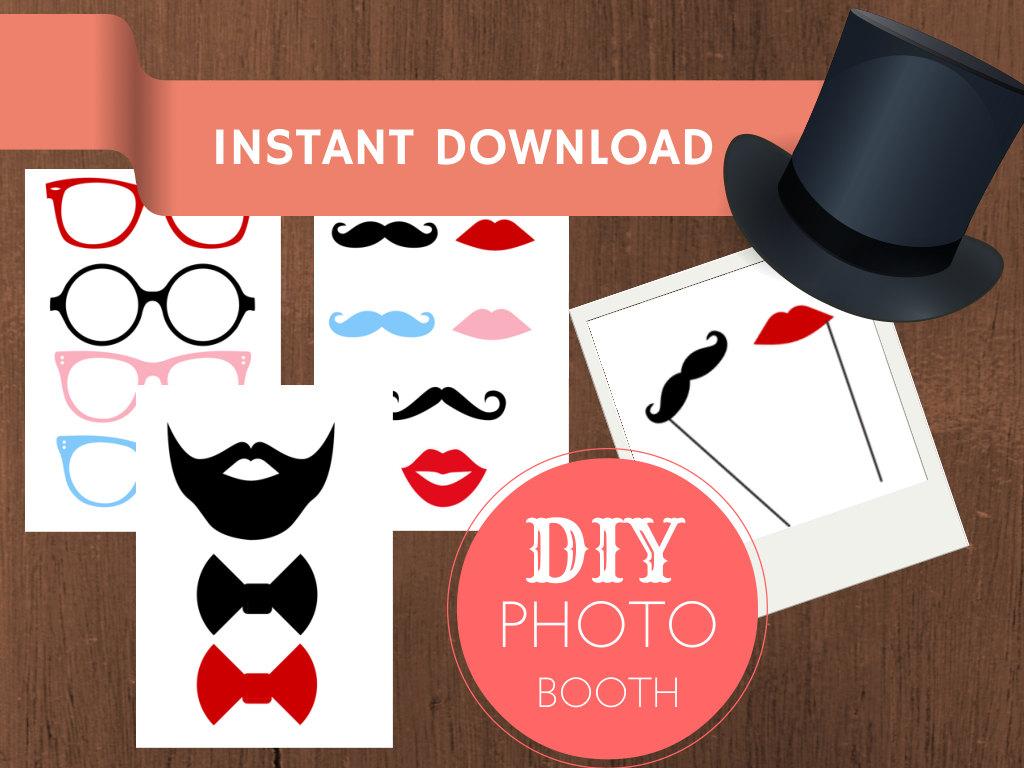 DIY Photobooth - Magical Printable