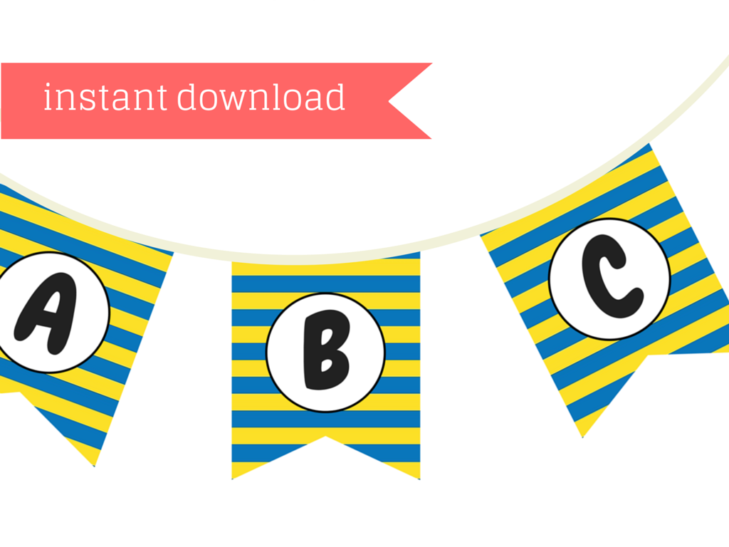 picture regarding Minion Symbol Printable titled Minion Banner - Magical Printable