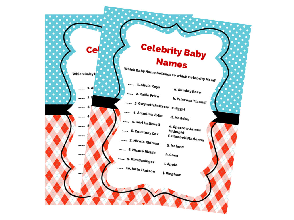 dr seuss celebrity baby shower game magical printable