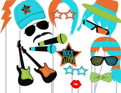 photobooth rockstar