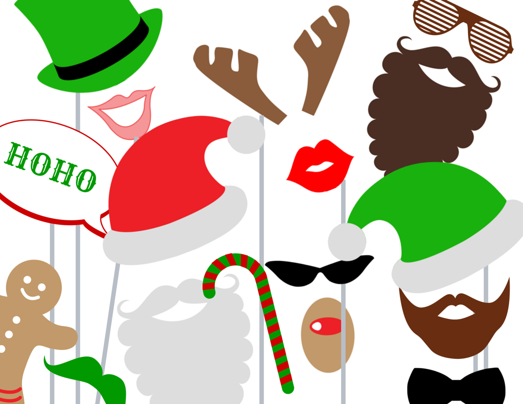 It's just a picture of Canny Christmas Photo Props Printable