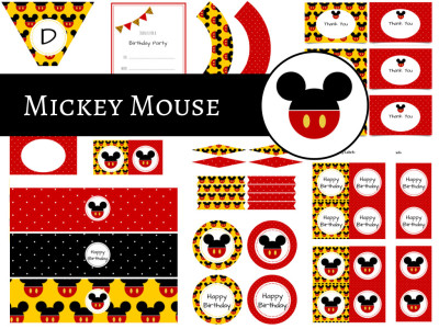 mickey mouse friends birthday magical printable