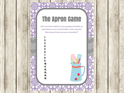 purple-apron-game-bridal-shower-game