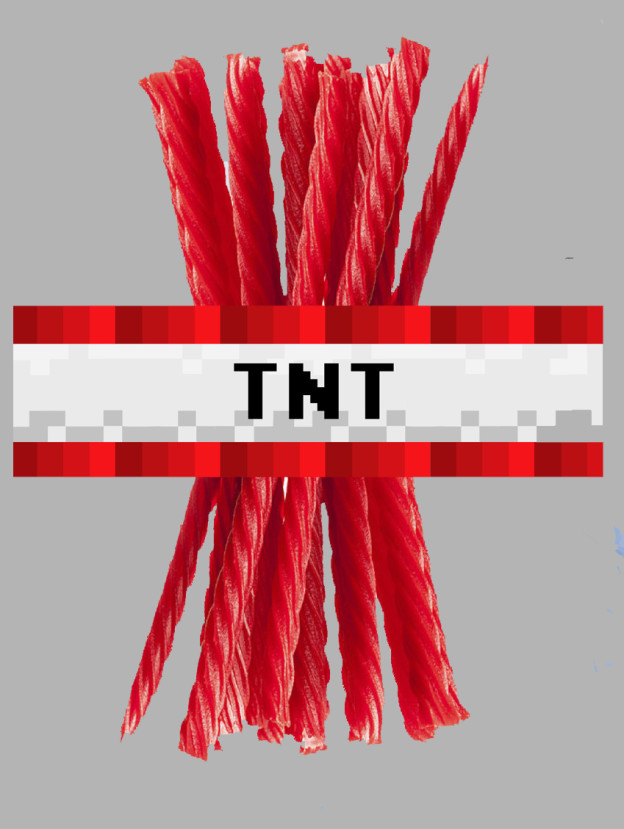 Minecraft Tnt Wrappers Magical Printable