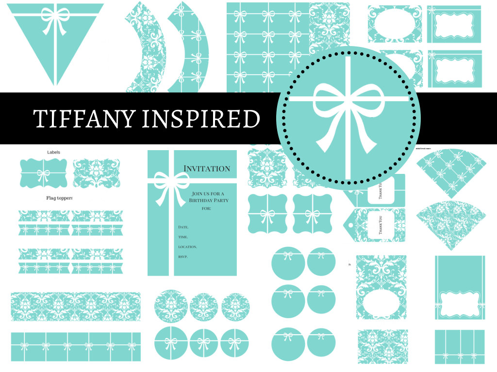 Kitchen Tea Ideas Themes Tiffany Party Package Magical Printable