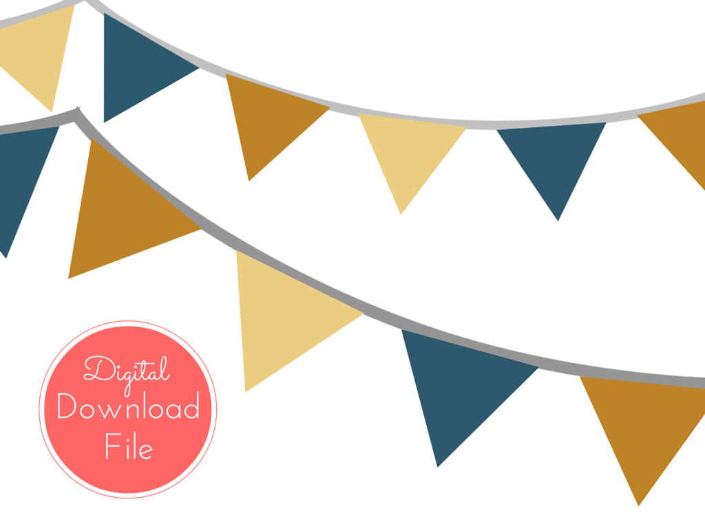 photo regarding Fall Banner Printable identified as Slide Autumn Banner, Bunting, Pennant - Magical Printable