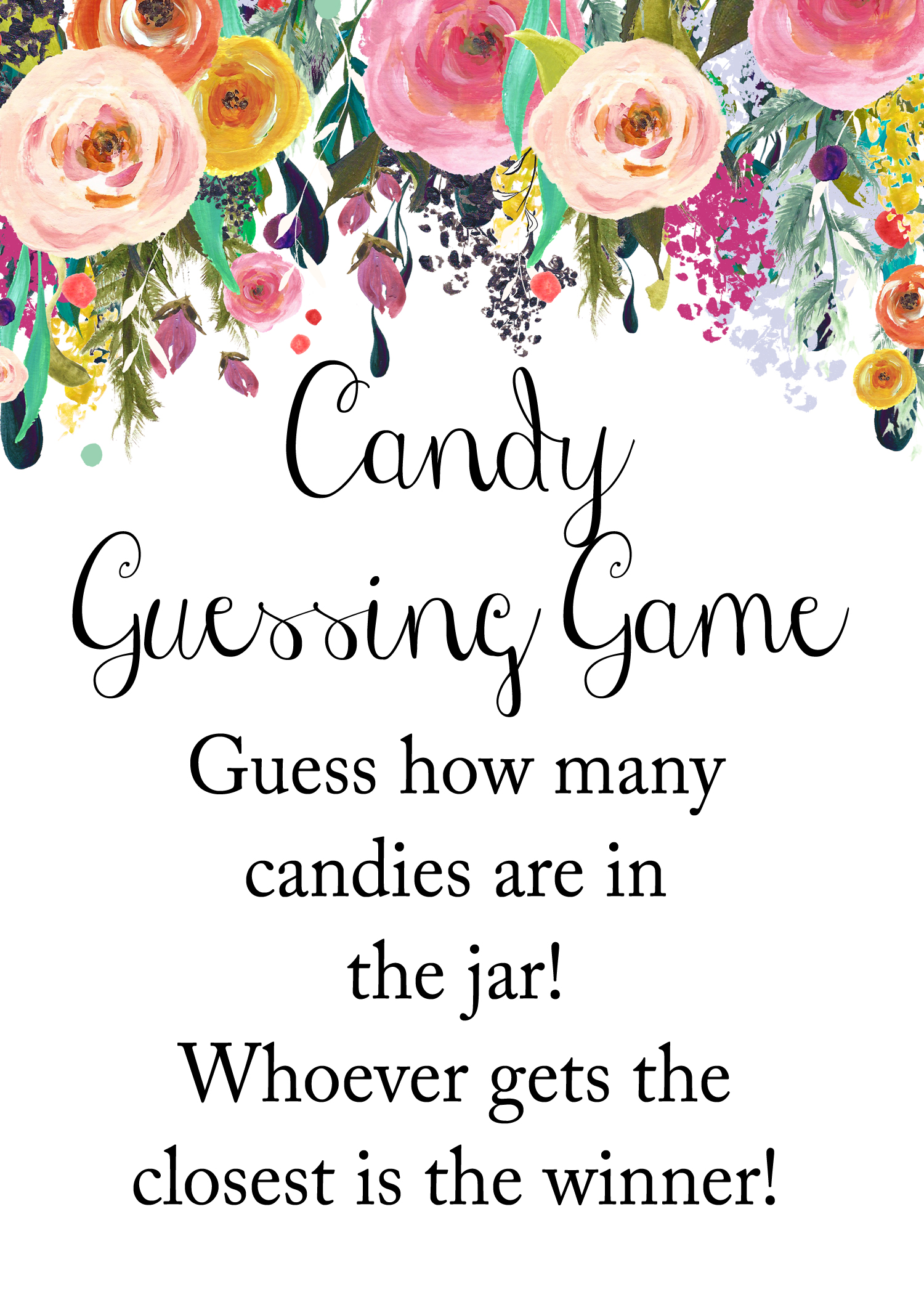 photograph relating to Guess How Many in the Jar Printable named wager-how-innumerable-candies-jar-indicator.jpg - Magical Printable