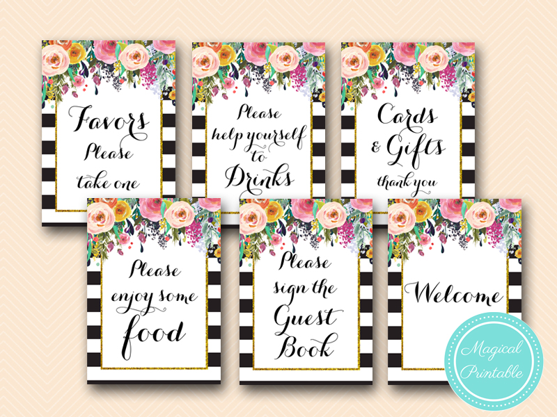 gold garden decoration  u0026 signs  u0026 invitation