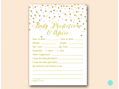 Pink And Gold Baby Shower Game Package Magical Printable