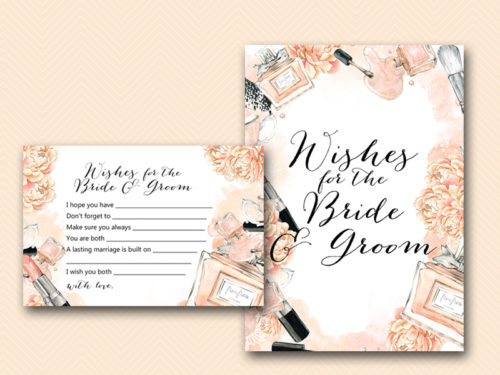 Fashion Beauty Bridal Shower Games Package