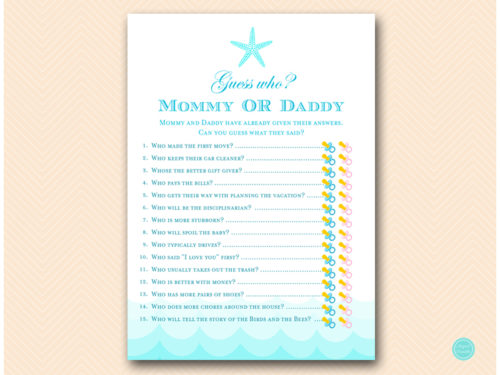 This is a graphic of Impertinent Guess Who Mommy or Daddy Free Printable